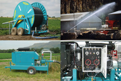Various irrigation and dust suppression products
